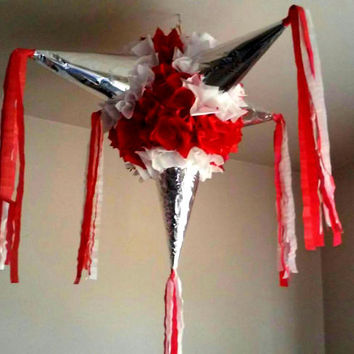 Big Star Pinata for wedding, engagement, anniversary or birthday party