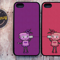 2 Best Friend Robots iPhone 5 / 5s case