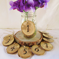 Wedding Table Number, Wood Table Numbers, Reception Numbers, Wedding Numbers