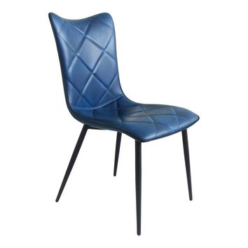 Josie Dining Chair Blue-Set Of Two