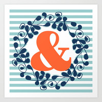 ampersand Art Print by ArigigiPixel