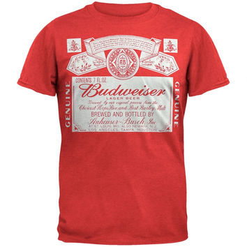Budweiser - Old Timer Soft T-Shirt