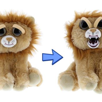 Feisty Pets Marky Mischief Plush Adorable Plush Stuffed Lion