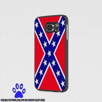 Rubber Confederate Rebel Flag for iphone 4/4s/5/5s/5c/6/6+, Samsung S3/S4/S5/S6, iPad 2/3/4/Air/Mini, iPod 4/5, Samsung Note 3/4 Case * NP*