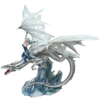 Fairy Dragon Rider Figurine