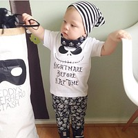 2017 summer style infant clothes baby boy clothing sets fashion cotton letters printed newborn 2pcs suit baby girl clothes