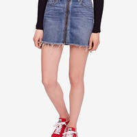 Free People Mini Zip It Up Skirt Women - Skirts - Macy's