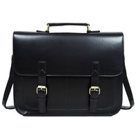 2016 Hot Sale Men and Women Briefcase Fashion Men Messenger Bags Leather Handbags Bussiness Shoulder Bag 3 Colors