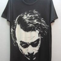 Joker  Tribute Vintage TShirt Size L by sixwas9ine on Etsy