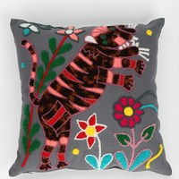 Magical Thinking Tiger Garden Pillow - Urban Outfitters