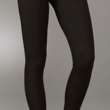 Splendid Ribbed Leggings | Black | Sale