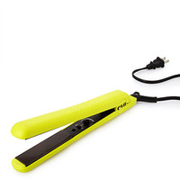 Electric Yellow Ceramic Styling Iron Neon Yellow One