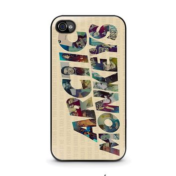 ARCTIC MONKEYS CHARACTERS iPhone 4 / 4S Case Cover
