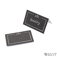 Chalkboard-Style Placecards