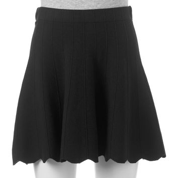 Juniors' Candie's® Scalloped Sweater Skirt