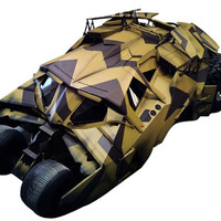 Batman Dark Knight Rises Exclusive Vehicle Camo Tumbler with Bane