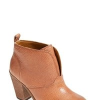 Women's Lucky Brand 'Ehllen' Textured Leather Bootie