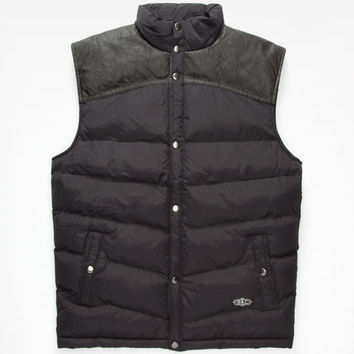 Brooklyn Cloth Hudson Mens Vest Black  In Sizes