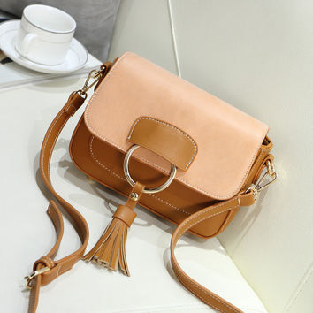 Fashion Tassel Women Bags Famous Brand Handbags And Purse Women Shoulder Retro Style Messenger Bag F