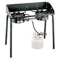 Camp Chef 2-Burner Stove ( 1 Low-Pressure, 1 High-Pressure)