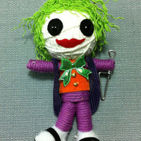 The Joker Batman Voodoo String Doll Funny Keyring Keychain Key Ring Key Chain bag Accessories Gifts