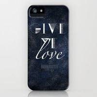 Ed Sheeran: Give Me Love iPhone Case by MaFleur | Society6
