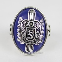 The Vampire Diaries Damon D Stefan S Salvatore Ring