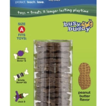 Busy Buddy Rawhide Ring Peanut Butter - Size A