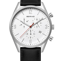 BERING Time Classic 10542-404 Chronograph Watch 42mm White