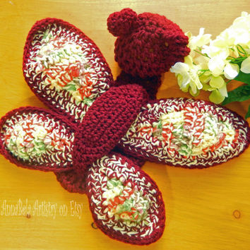 Crochet Butterfly wings and hat for newborn