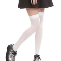 White Thigh Highs | Hot Topic