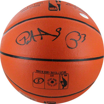 Patrick Ewing Signed Game Series IO Basketball