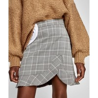 MINI SKIRT WITH FRILL DETAILS