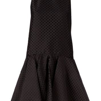 Giambattista Valli perforated dress