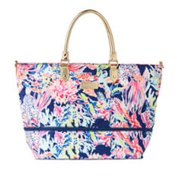 Expandable Weekender Travel Tote - Sunken Treasure | 24016527PL5 | Lilly Pulitzer
