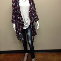 1291  Plaid  Duster