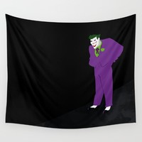 Joker - The animated series Bat MAN funny Wall Tapestry by Xiari | Society6