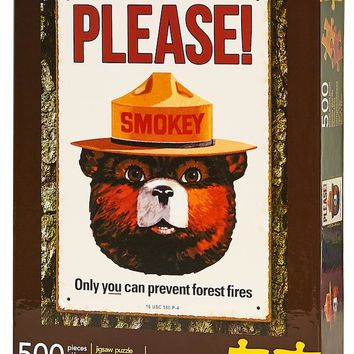 Smokey the Bear 500-Piece Puzzle