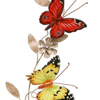Wall Metal Butterfly Decor An Excellent Anytime Wall Decor
