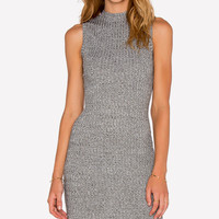 Rocky Road Grey Knit Dress