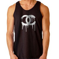 Chanel White For Mens Tank Top Fast Shipping For USA special christmas ***