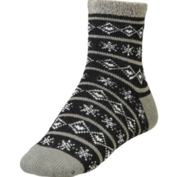Yaktrax Women's Cozy Nordic Cabin Sock | DICK'S Sporting Goods
