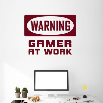 Vinyl Wall Decal Gamer Room Idea Video Game Gaming Decor Art Stickers Mural Unique Gift (ig5113)