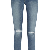 Paige | Verdugo distressed mid-rise skinny jeans  | NET-A-PORTER.COM