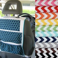 Car Organizer Now available in Riley Blake Chevron by ashleyNEF