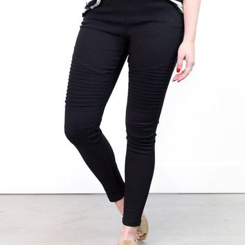 Mallie Colorful Moto Jeggings