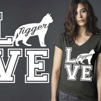 Bengal Cat Love Personalized T-shirt