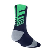 Nike Elite Sequalizer Crew Basketball Socks 1 Pair - Blackened Blue