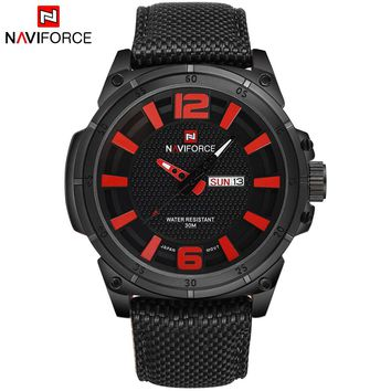 NAVIFORCE NF9066B Army Military Men's Quartz Sports Watch