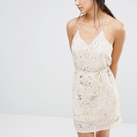 River Island Premium Embellished Cami Mini Dress at asos.com